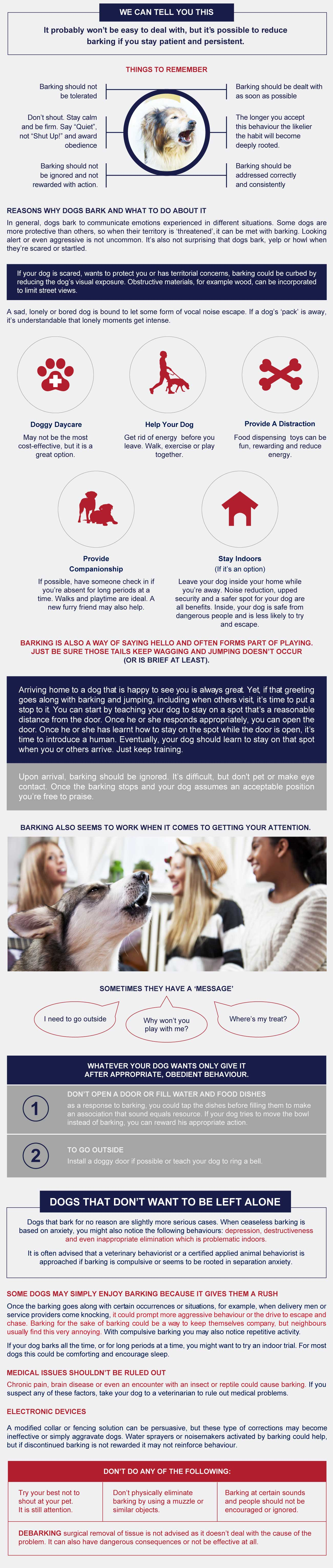 infographic why dogs bark